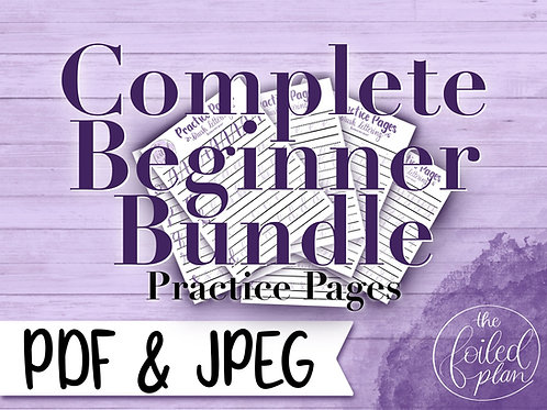 Complete Beginner Practice Pages