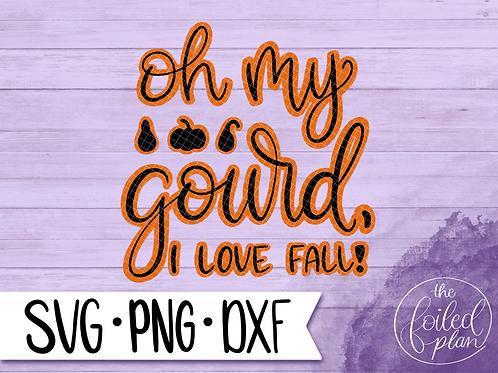 Oh my Gourd, I Love Fall!