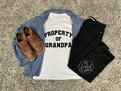 Property of Grandpa T-Shirt