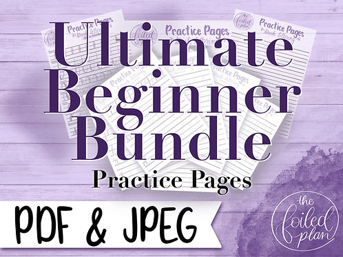 Ultimate Beginner Practice Pages