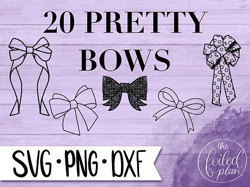 20 Pretty Bows