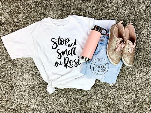 Stop and Smell the Rosé T-Shirt