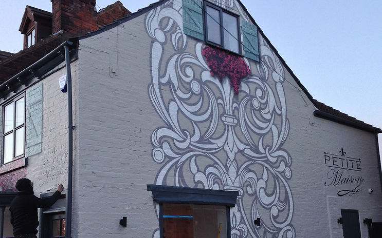 peter barber   artist   modern mural   graffiti artist   mural painter   photorealism graffiti