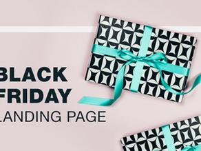 Cum să vă pregătiți pagina de destinație de Black Friday pentru a obține vânzări