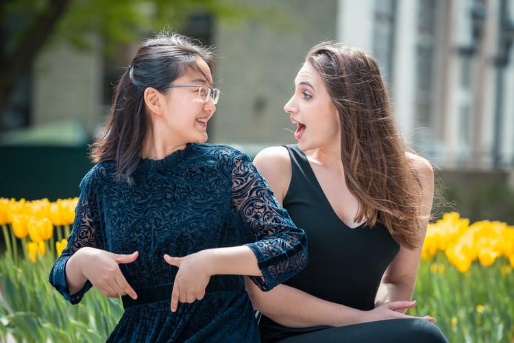 Julia Cohen and Lingbo Ma
