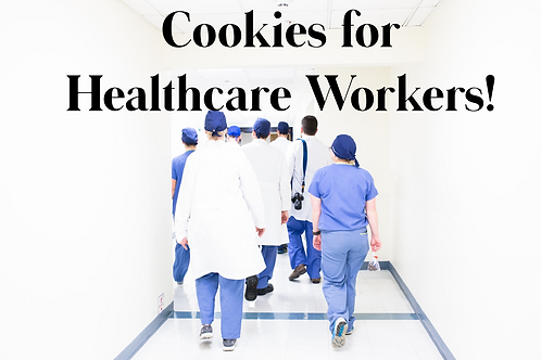 Cookies for Healthcare Workers