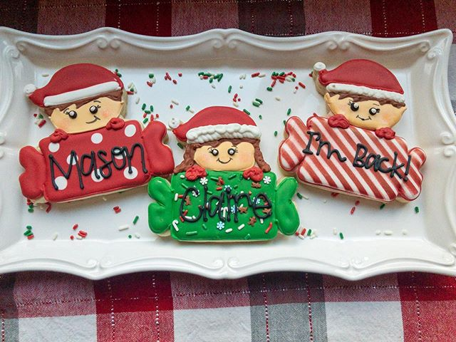 Elf on the shelf cookies will be live fo