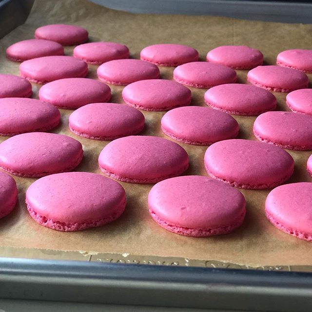 FINALLY got my macarons right! Flavor is