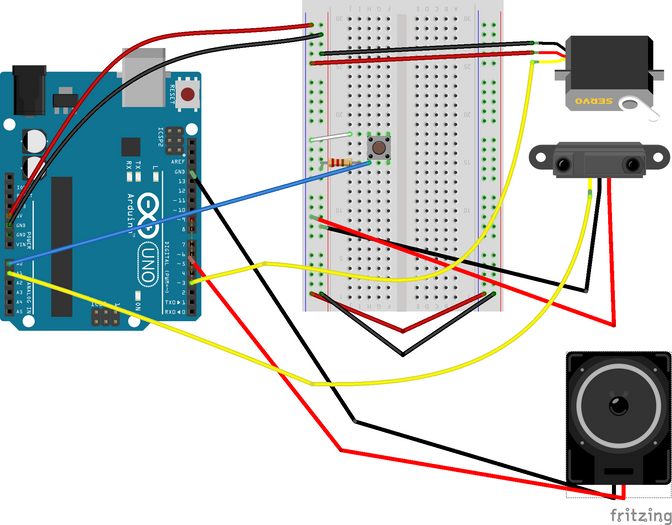 Observation of every day things & Servo Motor+IR Sensor lab.