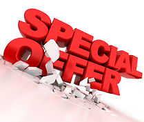 special offer for heating and cooling services