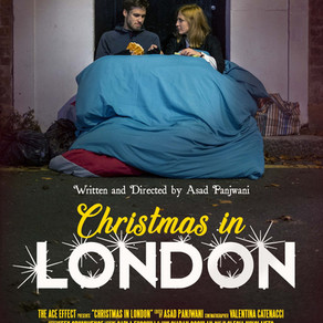 Christmas in London short film review