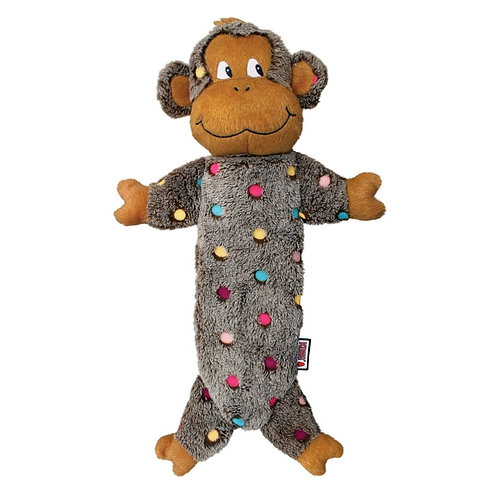 KONG Low Stuffing Speckles Monkey