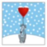Greyhound Christmas Cards