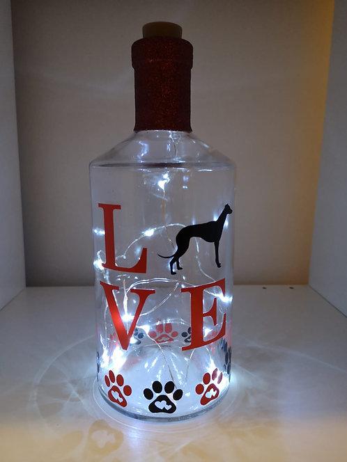 Greyhound Bottle Lights