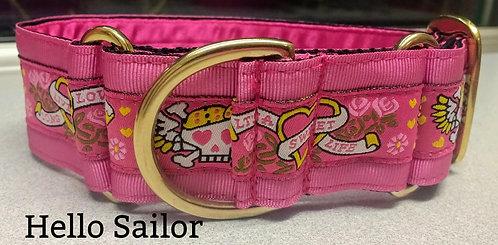 Hello Sailor Kitsch Martingale Collar