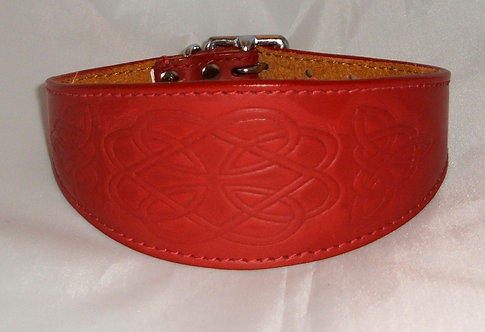 Leather Collar - Celtic