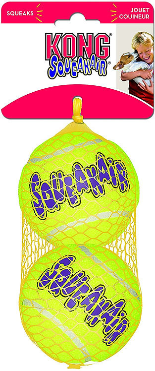 Kong Air Squeaker Tennis Ball - Large