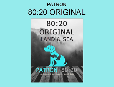 Patron Project 80:20 Original Dog Food