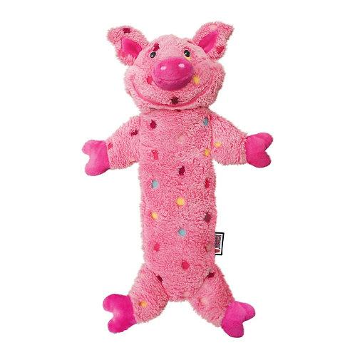 KONG Low Stuff Speckles Pig Large