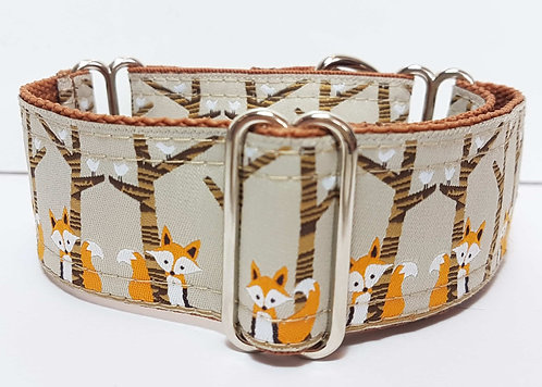 Martingale Collar - Sneaky Foxes