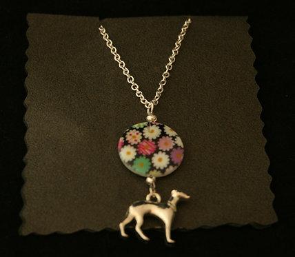 Handmade Greyhound Necklace