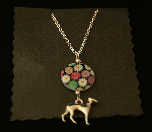 Handmade Greyhound Necklace