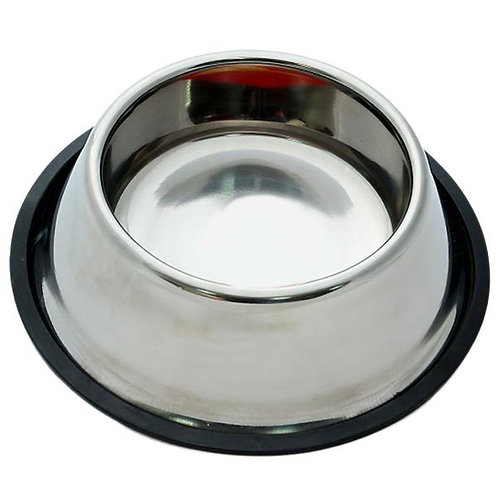 Non-Tip Stainless Steel Dog Bowl