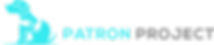 Patron Project DogLogo-A14-transparent-W