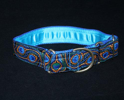 Martingale Collar - Blue Peacock