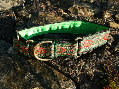 Kitsch Martingale Collar - Emerald Russet