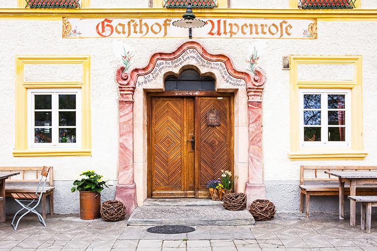 Gasthof Alpenrose Samerberg Fotografie
