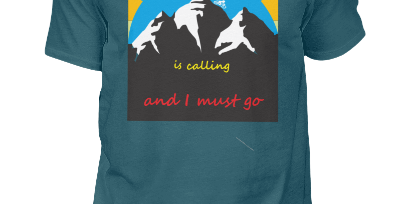 "T-Shirt ""Samerberg is calling"""