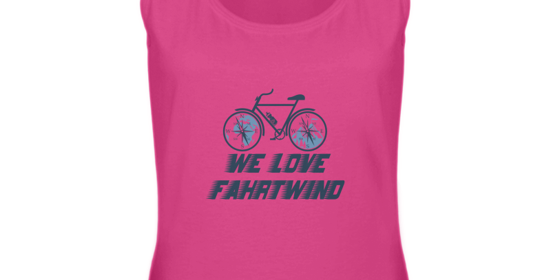 "Tank Top ""We love Fahrtwind"" Damen"