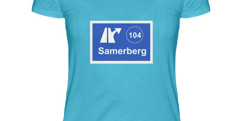 """T-Shirt """"Ausfahrt Samerberg"""" Damen"""