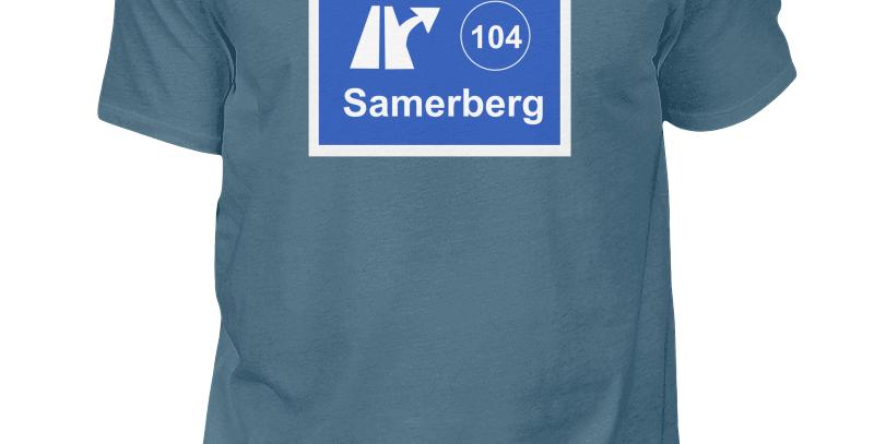 """T-Shirt """"Ausfahrt Samerberg"""" Herren"""