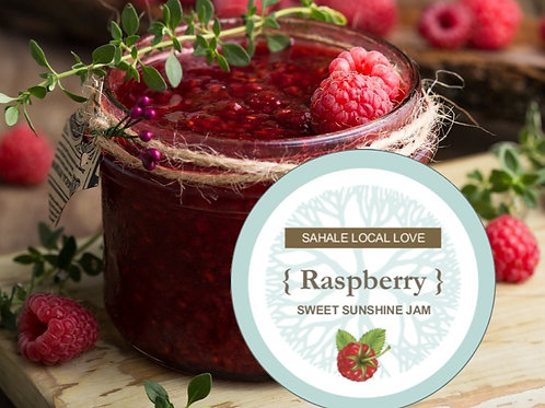 Sweet Sunshine Raspberry Jam