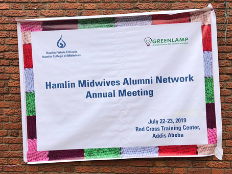 Connecting, supporting and building skills at the Hamlin Midwives Alumni Network Summit