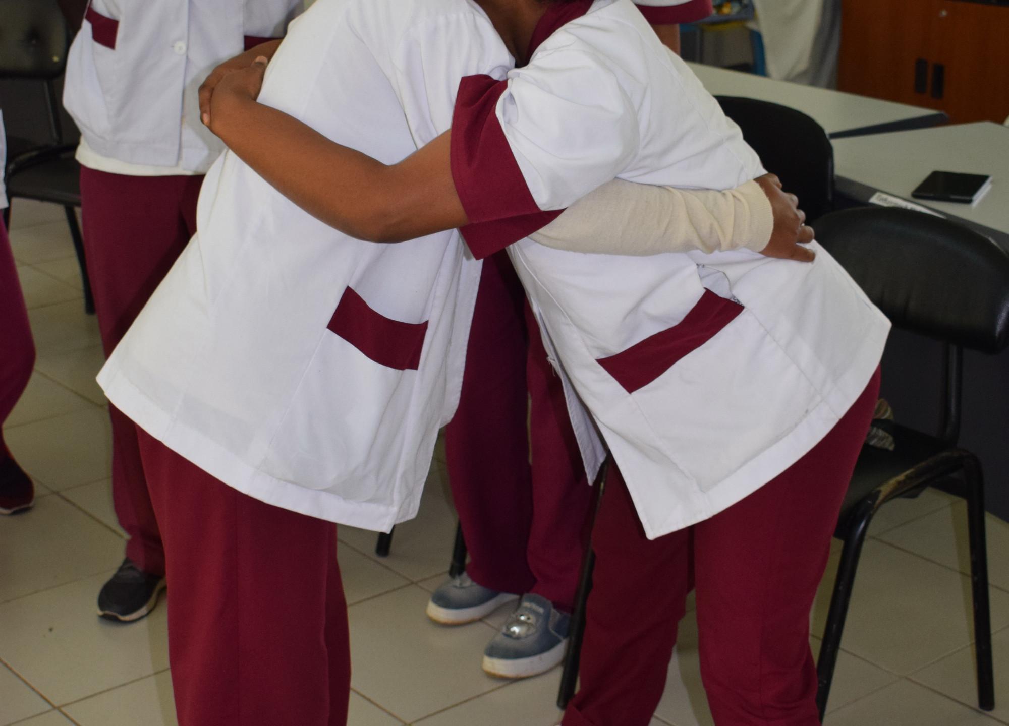 Students practising (1)