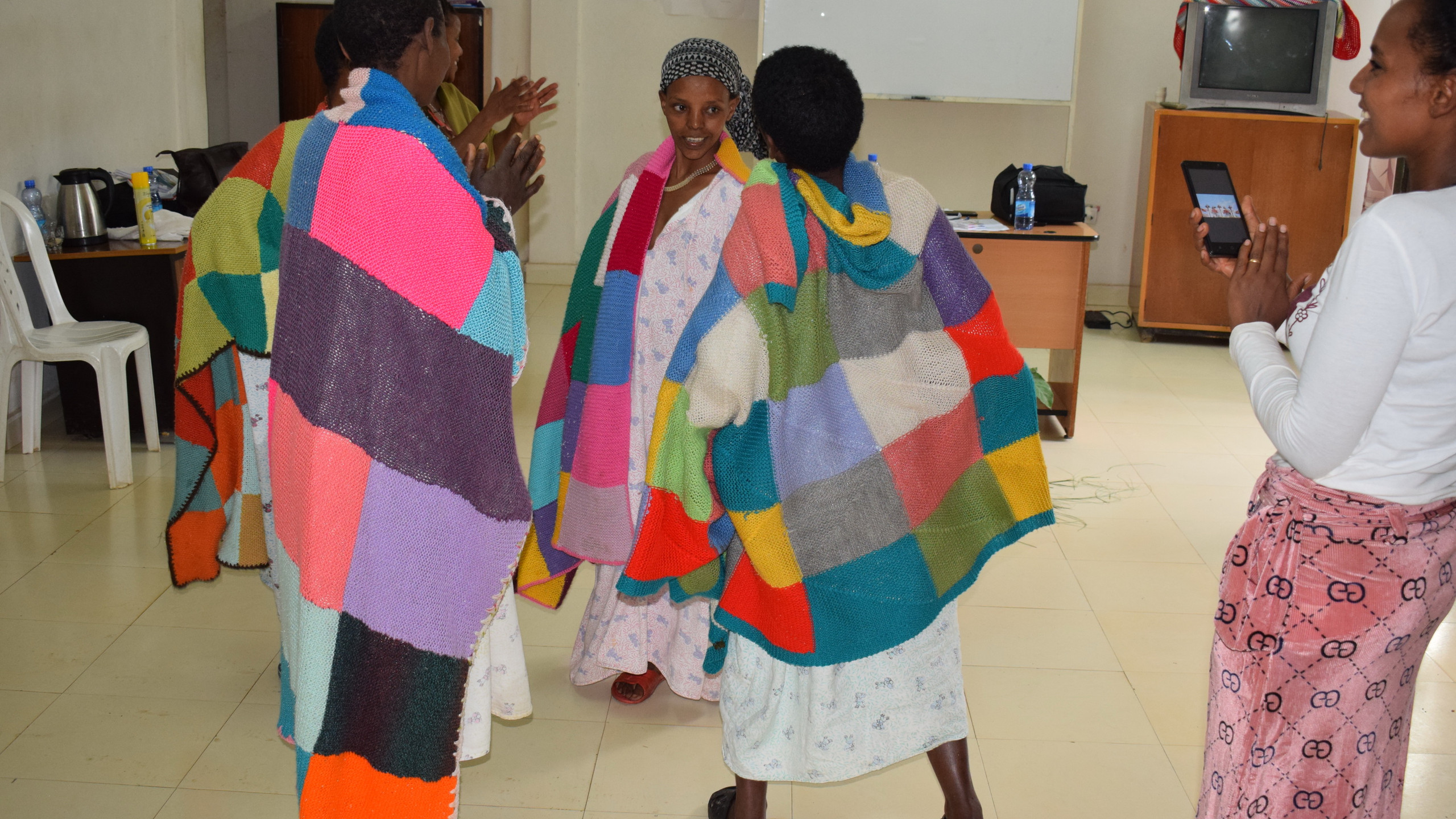 Fistula patients joining the dance