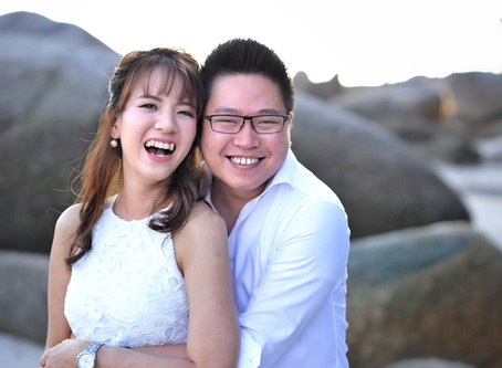 CELEBRATING SHAN + JO: ENGAGEMENT PORTRAITS IN PENANG