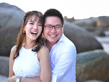 CELEBRATING SHAN + JO: ENGAGEMENT PORTRAITS IN PENANG
