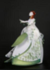 Sculpture lumineuse, Dame Nature, Marie fillon