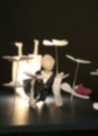 Sculpture lumineuse, Marie Fillon