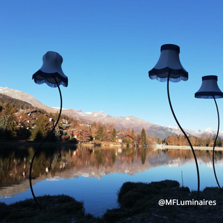 Suisse, Crans Montana, abat jours outdoor