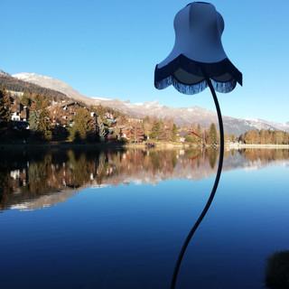 Suisse, Crans Montana, Chemin des lanternes
