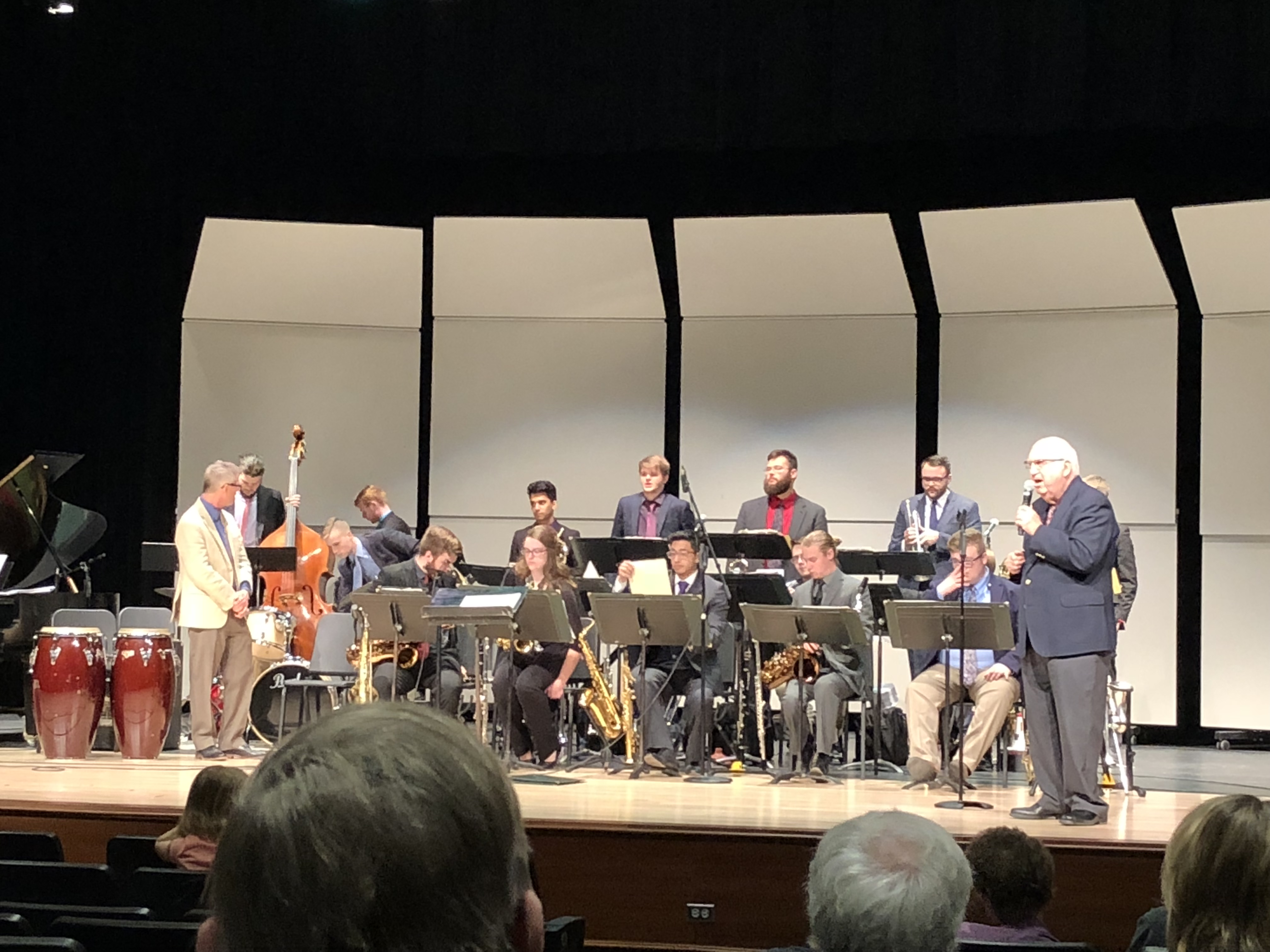 Gary McCurdy Announces U of I Jazz Band 1