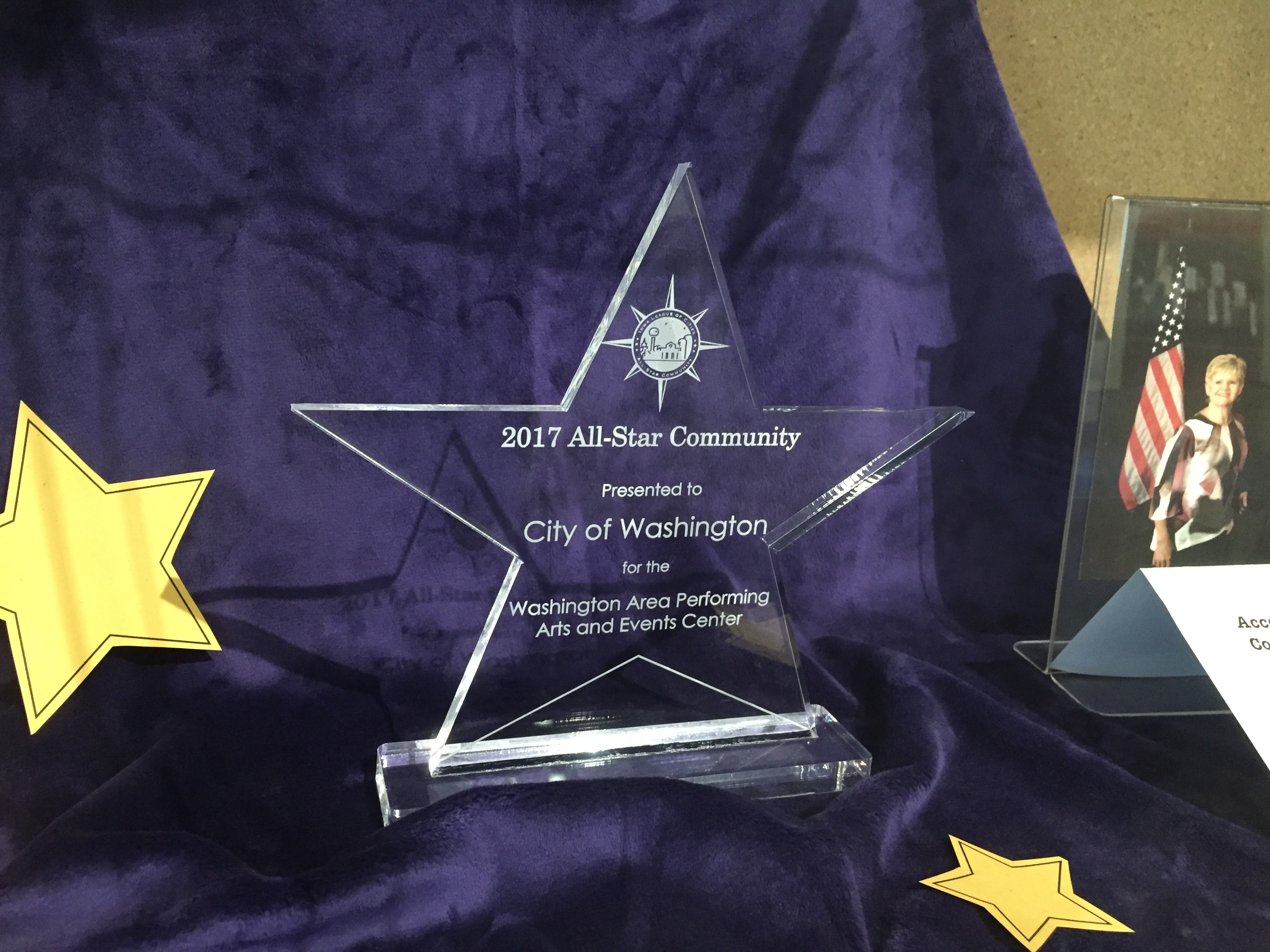 Washington Named 2017 All-Star Community by Iowa League of Cities