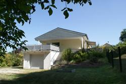Garage mit Terrasse