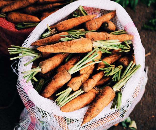 Carrots, get your carrots here