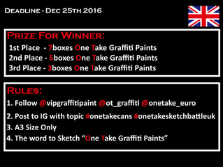 One Take Sketch Battle UK